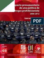 Presupuesto Drogas - México