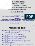 Risk Assessment ISO31000