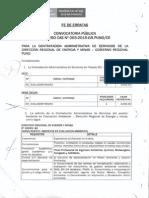 Fe de Erratas i Proceso 003 2015 Cecas