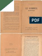 Durville Henri - Le Sommeil Magnétique