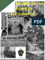 Tema 7. Alfonso XIII (1902-1931). La crisis de la Restauración