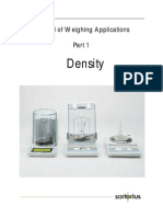 Density Determination Manual
