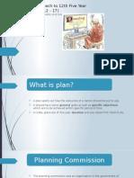 five year plan - 12th