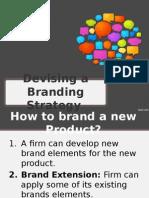 Devising a Branding Strategy