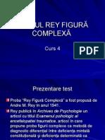 Testul Figura Complexa Rey Curs 4