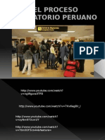El Proceso Migratorio Peruano