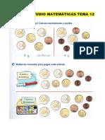 Ficha de Estudio Tema 12 Matematicas
