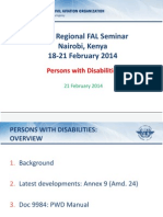 Day 4 - Persons With Disabilities WithNotes - ICAO