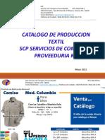 Catalogo Textil SCP Junio 2015