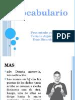 Diapositivas de Leguaje de Señas
