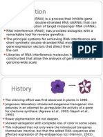 Application of RNAi in Plants