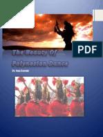 the beauty of polynesian dancee