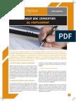 FP Rediger Convention Partenariat