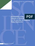 EPA Fracking Report June 2015