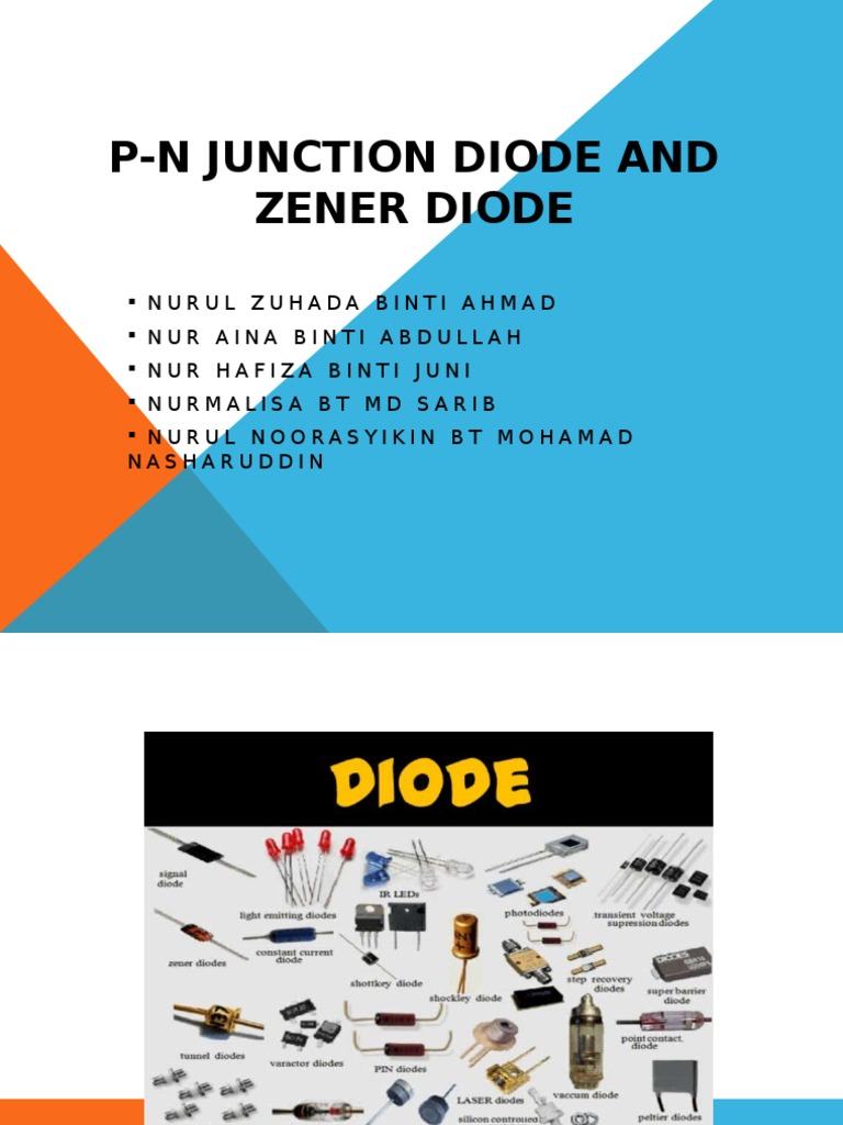 P N Junction Diode And Zener Pn Limit The Current But How So Why Do We Need It For A