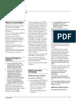 Misoprostol Leaflet (Australia)