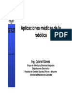 Aplicaciones Médicas de La Robótica