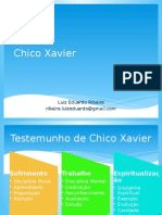 Palestra sobre Chico Xavier
