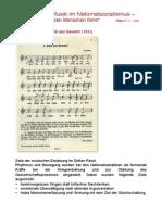Agitatorische Musik Im Nationalsozialismus