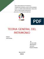 Teoría General Del Patrimonio