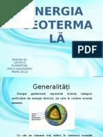 Energia Geotermala - Lacatus Și Voicu