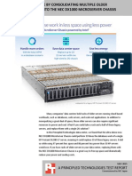 Save power and space by consolidating multiple older OpenStack servers onto the NEC DX1000 MicroServer Chassis
