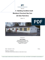 Blackburn Preschool - 2014 Building Condition Audit