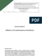 Mexico Una Democracia Incipiente