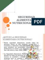 Seguridad Alimentaria Nutricional (San)
