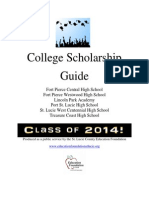 2013 2014 Scholarship Guide