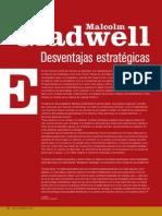 Desventajas Estrategicas_malcom Gladwell