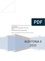 Auditoria Especifica Datacenter-Sistema Unificado-Voip