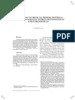 Operariado No Brasil, Teoria e Método