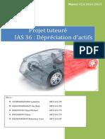 Projet Tuteuré IAS 36 - Dépréciation d'Actifs