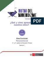 Documentos Primaria PersonalSocial V