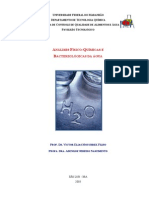 Analises Fisico-Quimicas e Bacteriologicas Da Agua_Apostila