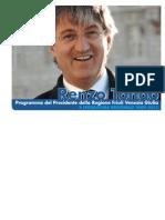 Programma Pres. Renzo Tondo FVG 2008-2013