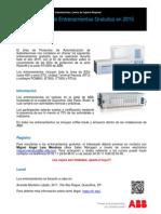 Calendario Entrenamientos 2015-ABB Relion 670-650 RTU560 Softwares Rev0 - ES