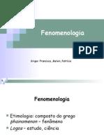Fenomenologia - mestrado