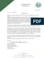 kdp reference letter