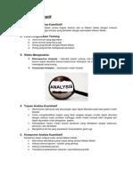 Analisa Kuantitatif & Kualitatif