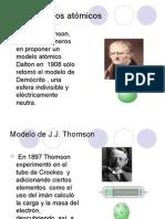 Modelos atómicos. Q1