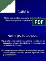 Ratia Calorica La Nou Nascut si  Sugar