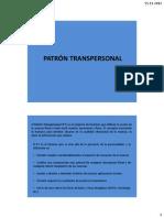 Patrón Transpersonal