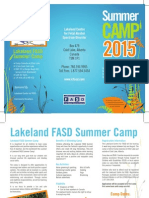 Camp Brochure 2015