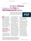 Solving the Brain Fitness Puzzle Is the Key to Self-Empowered Aging