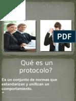 Protocolo e Imagen Personal
