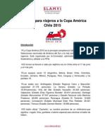 Copa America 2015 consejos