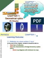 Matriculation Physics ( Geometrical Optics )