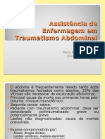 assistnciadeenfermagememtraumatismoabdominal-130523200652-phpapp02.ppt